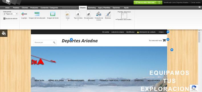 Editor de contenido Deportes Ariadna